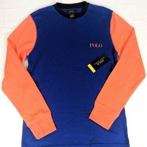 Mens New Polo Ralph Lauren Thermal Shirt sz M